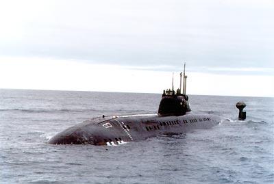 Большая атомная подводная лодка